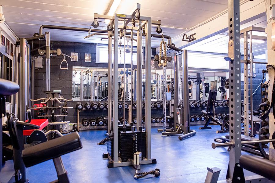 Lucs Oldschool Gym fitness Halen